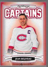 06/07 Parkhurst Captains Jean Beliveau /3999 187 Canadiens