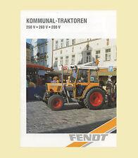 FENDT Farmer 250 V 260 V 280 V Kommunal Schlepper Original 1998