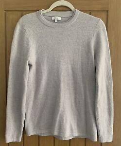 Reiss Mens Light Grey Jumper Pullover Size S VGC