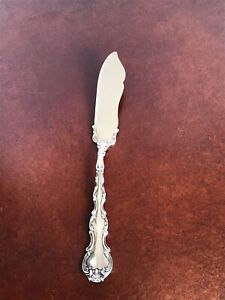 Gorham Strasbourg Old Marks Pat 1897 Sterling Solid Master Butter Knife No mono