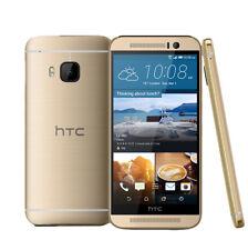 Débloqué 5'' HTC One M9 32Go 20Mpx 4G LTE Android Mobile Téléphone Neuf - Doré