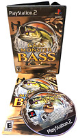 Cabela's Monster BASS W Manual PS2 PlayStation 2 Game