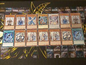 Blauäugiger Weißer Drache Deck Blauäugig Karten Set Maid Beschützer Priesterin