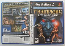 Champions Return to Arms (PS2 Game) Excellent Cond - MINT DISC - AUS SELLER