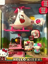 HELLO KITTY EMERGENCY HELICOPTER WITH FIGURE