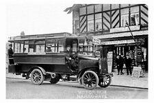 pt1115 - Bus by Walker Road Post Office  , Harrogate , Yorkshire - photo 6x4