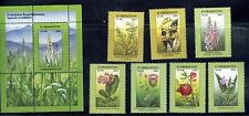 2002. Uzbekistan. FLORA. RARE Flowers. Sc.320-327. MNH