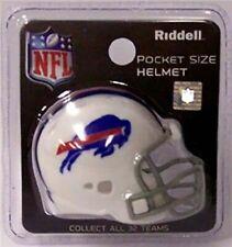 New listing NFL Buffalo Bills Riddell Pocket Pro Helmet, New (Revolution - White)