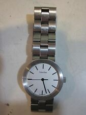*CALVIN KLEIN* - WATCH AUTOMATIC VINTAGE - STAINLESS STEEL - SWISS MADE
