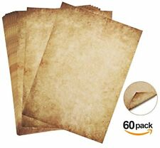 60 sheets writing paper Design Paper Old Look DIN A4 100 gm Absofine DIY offse
