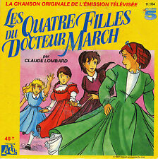 TV OST LES QUATRE FILLES DU DOCTEUR MARCH / INSTRUMENTAL FRENCH 45 SINGLE