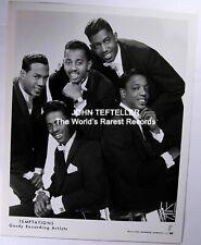 ORIGINAL 1960's 8x10 Publicity Photo Temptations Soul