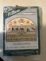 NEW VINTAGE Elsa Williams Needlepoint ABC  SAMPLER Primitive Michael LaClair