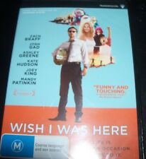 Wish I Was Here (Zach Braff Kate Hudson) (Australia Region 4) DVD – New