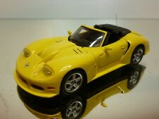 SPARK 50787 MARCOS LM 500 CONVERTIBLE 1996 - YELLOW 1:43 - EXCELLENT - 24