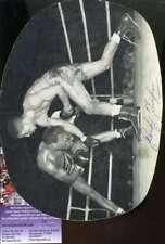 Randy Turpin Jsa Coa Authentic Hand Signed Round 7x9 Rare Photo Autograph