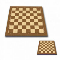 "Professional Tournament Chess Board 5P BROWN  - 2.1"" / 54 mm field - 20"" size"