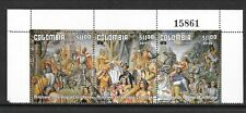 COLOMBIA Sc C662 NH STRIP of 1978 - ART