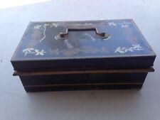 vintage metal cash box