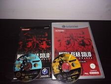 Metal Gear solid the twin snakes nintendo GAMECUBE GC