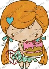 BIRTHDAY ANYA 3-The Greeting Farm Cling Rubber Stamp-Stamping Craft-RETIRED