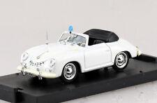 Porsche 356 Cabrio Polizei Schweiz 1952 1:43 Brumm Modellauto R198D