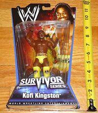 2010 WWE WWF Mattel Kofi Kingston Survivor Series Wrestling Figure MIP