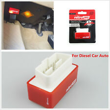 Car OBD2 Performance Chip Fuel Saver Tuning Box Interface Plug &Drive For Diesel