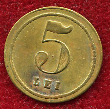 "Romania 1930s 5 Lei ""RESTAURANT CINA C.NESTOR"" rare brass counter,token"