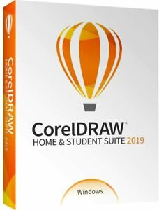 Corel CorelDRAW Home & Student Graphics Design Suite 2019 USA Disc & Downnload .