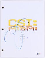 David Caruso Signed CSI Miami Episode Script BAS Beckett Horatio Caine