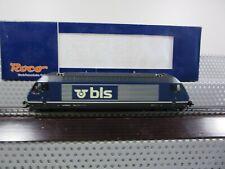 Roco H0 62399 E-Lok Elektor Lok Re 465 018-0 der BLS Analog DSS in OVP