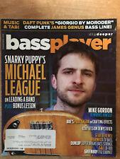Aug 2014 BASS PLAYER Magazine -Michael League,Snarky Puppy,Mike Gordon,Daft Punk
