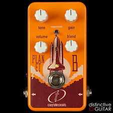 NEW CRAZY TUBE CIRCUITS PLANET B BASS OVERDRIVE DISTORTION GUITAR EFFECTS PEDAL