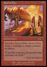 MTG SEAL OF FIRE EXC - SIGILLO DEL FUOCO - NEM - MAGIC