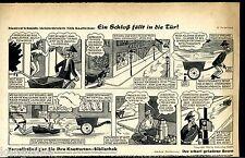 Nick Knatterton--Comic---12. Fortsetzung--Zeitungsausschnitt von 1954 -Quick-