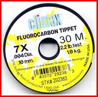 Climax Fluorocarbon Fly Fishing Tippet