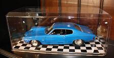 Nascar Display Cases w/Checkered Floor  (8) 1:18 Scale Model Cars Trucks Dolls