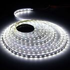 Non-waterproof 5M 5050 DC 12V White SMD 300 LED Flexible Strip Christmas Party