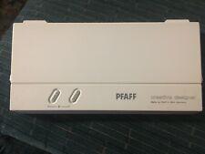 Genuine PFAFF Creative Designer ML0001 ML 0001 Programming sheets & Manual Book