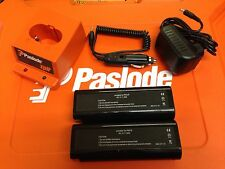 PASLODE CHARGER BASE/2 BATTERIES/ACDC ADAPTER/IN CAR CHARGER