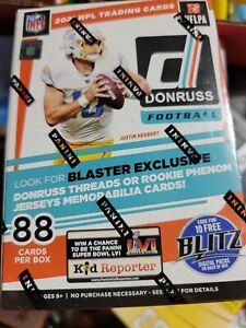 2021 Panini Donruss Football Blaster Box FACTORY SEALED In Hand 🔥 🏈