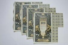 SOCIETATE ROMANA CREDITUL MINIER 500 & 2500 LEI BUCAREST 1923 X 6 ACTIONS