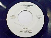 Jon Secada Angel / Angel Spanish Version 45 Jukebox Vinyl Record
