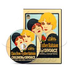Children of Divorce (1927) Clara Bow, Drama, Romance Movie / Film on DVD