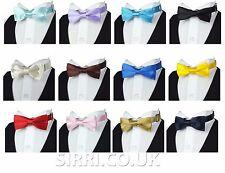 Boys Children Kids  Wedding Party Tuxedo Bow Tie Adjustable Pre-Tied Bow Ties