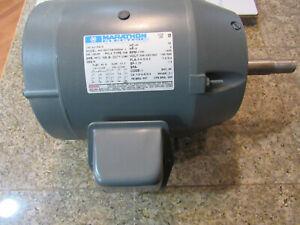 Marathon 3 HP Close-Coupled Pump Motor, 3 phase, 1800 RPM, 208-230/460 V, 182JM