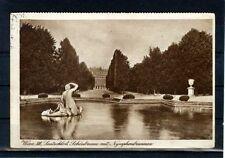 Alte AK Österreich: Wien, Lustschloß Schönbrunn, Nymphenbrunnen, 1929
