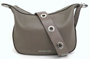 Michael Kors Taupe Leather Crossbody Bag Purse