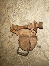 Case Sc Tractor Seat Mounted Hand Crank Bracket Spring Holder Part With Bolt S